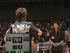 #11 予選Bブロック 中井 康博 vs 谷内 太郎/動画
