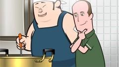第4話 力士サイズになる料理/Sumo-Sized Food/動画
